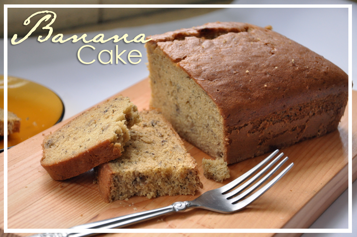 Banana Cake Without Baking Powder