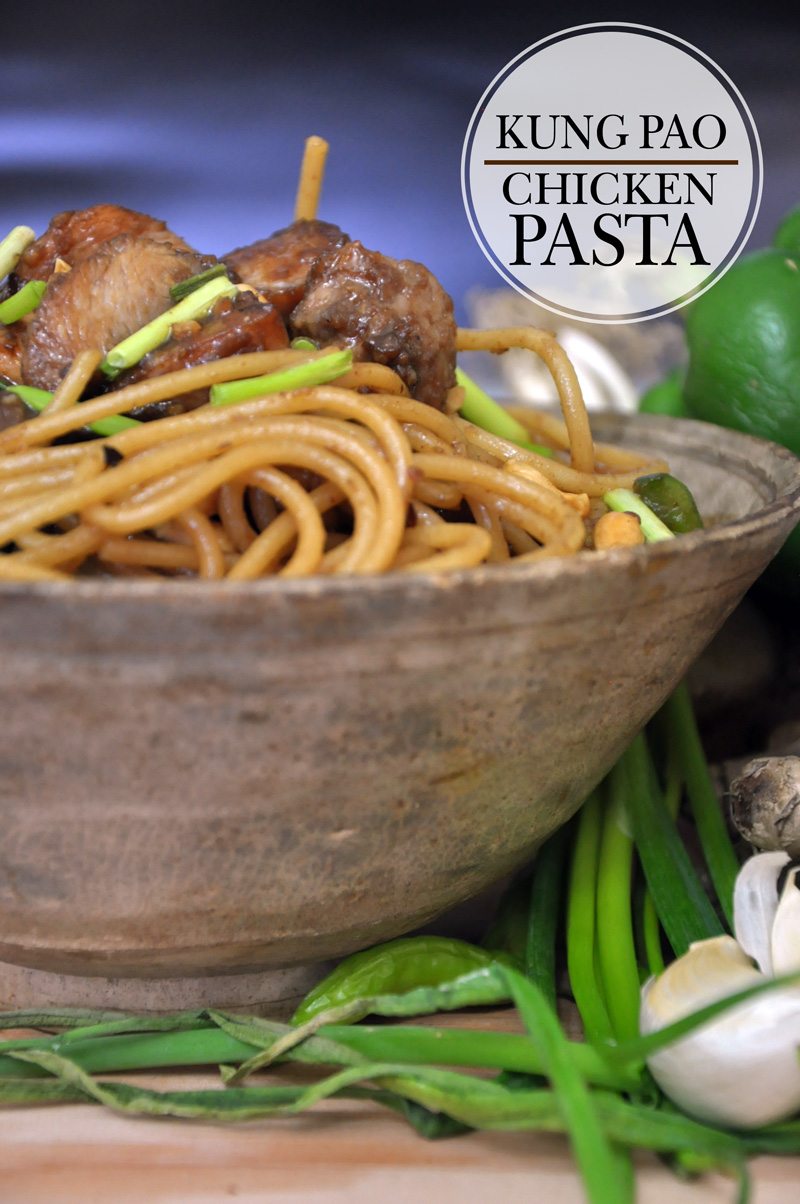 Kung Pao Chicken Pasta Kiss The Foodie